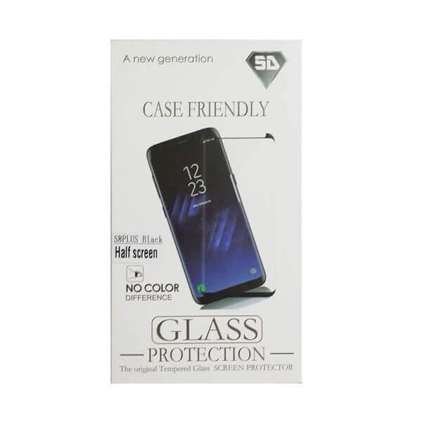 Gehärtetes Glas Displayschoner für SAMSUNG S8 plus black