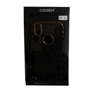 Handy-Schutzhülle für iPhone X schwarz