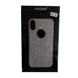 Handy-Schutzhülle für iPhone X silber