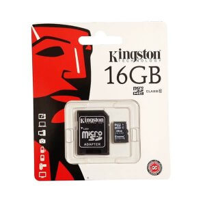Micro-SDXC Card mit SD-Adapter KINGSTON
